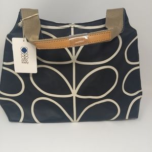 NWT Orla Kiely Classic Giant Stem Shoulder Bag